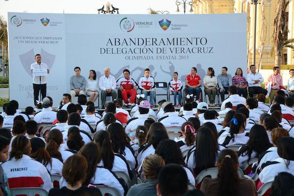 29Ene15 Abanderamiento Olimpiada Veracruz WV (122)