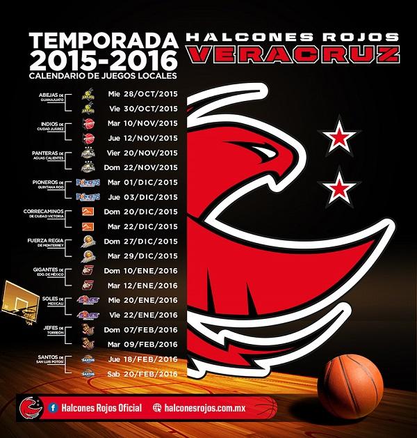 CALENDARIO LOCAL  2015-16